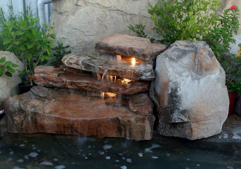 Cascadas artificiales para piscinas estecha group for Cascadas prefabricadas