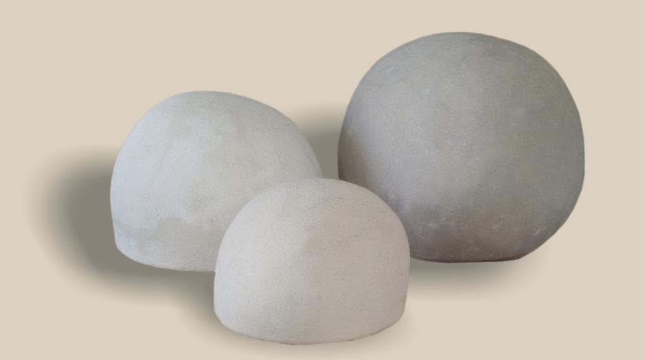 Piedras decoración de rio