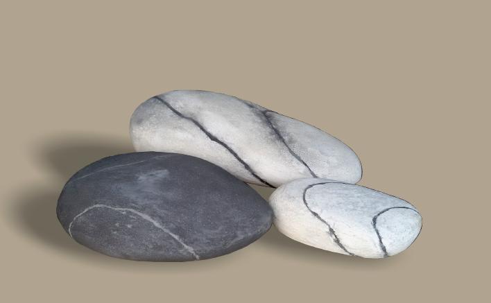 Piedras para jardín decorativas