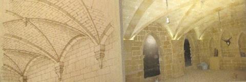 reproducción de piedras en interior