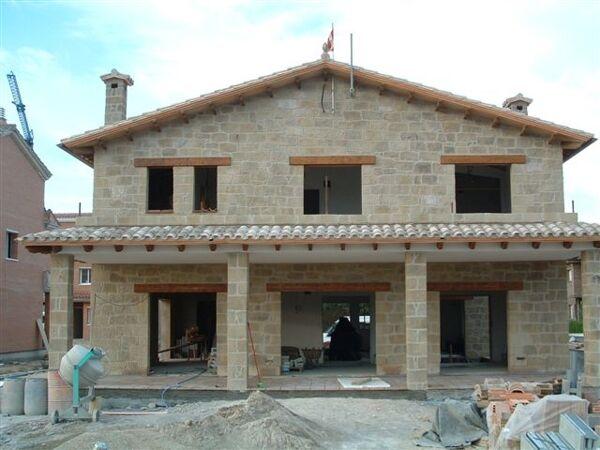 fachadas de piedra artificial