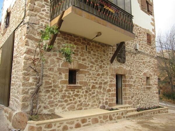 Fachadas de piedra r stica artificial y tematizaci n for Losetas para fachadas