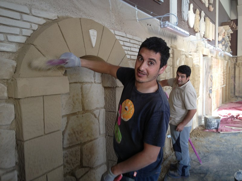 escuela de formación en rehabilitación de fachadas