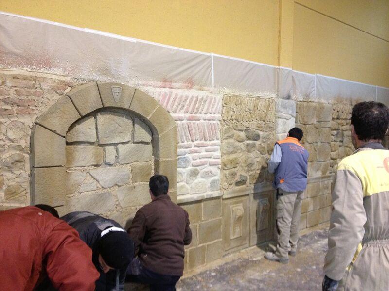 escuela formación reparación de fachadas de piedra