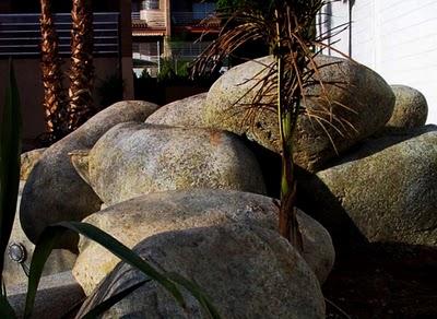 Rocas artificiales decoración casa