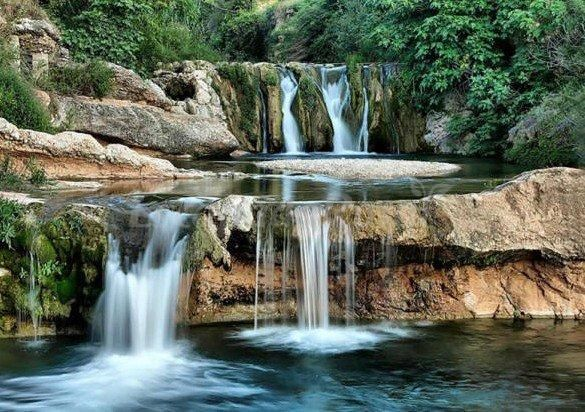 cascadas del Matarranya en Beceite