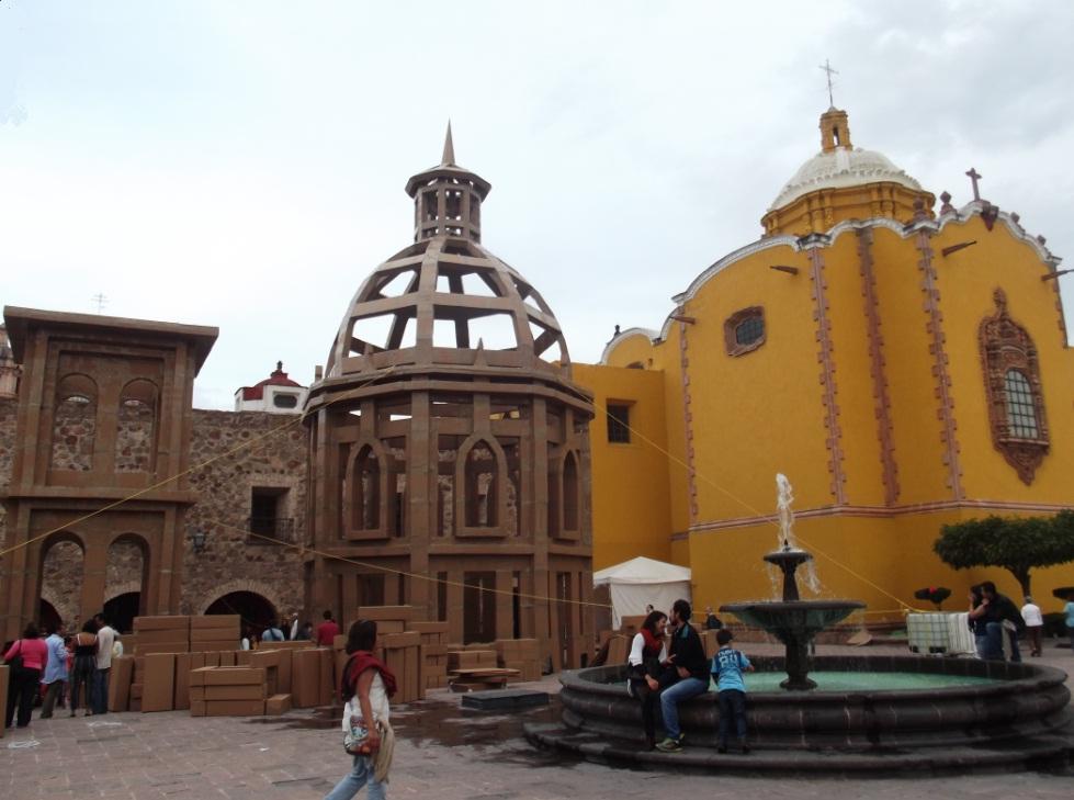 arquitectura efímera en Aránzazu