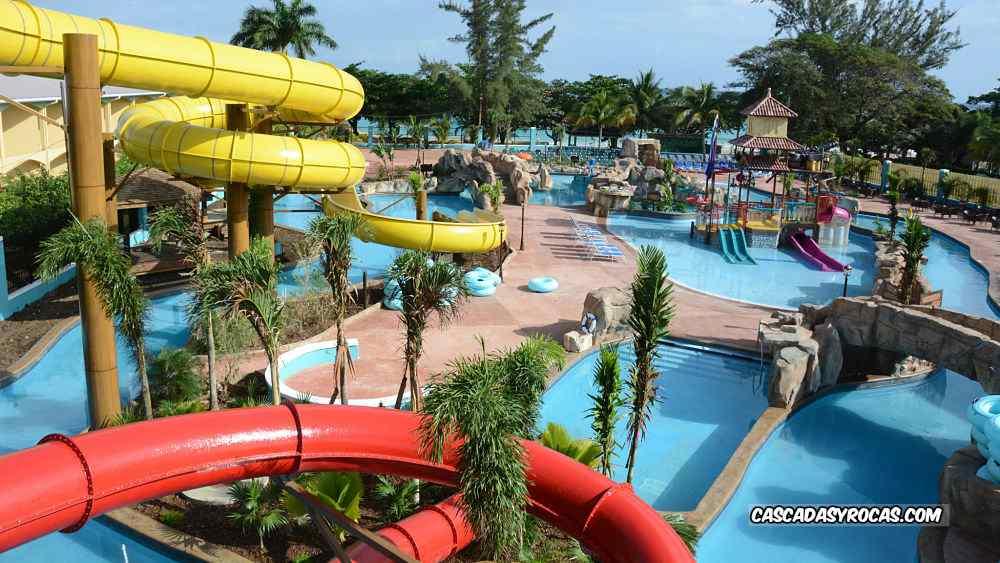 Parque temático piscinas